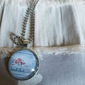 Jewelry - Land that i love necklace